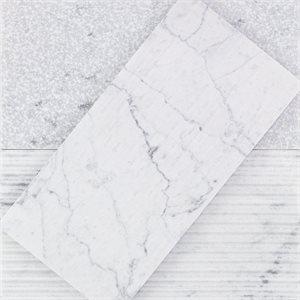 Close Out - Textured Stone - White Carrara