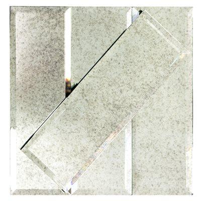 Mirror Antique 4x12 Beveled