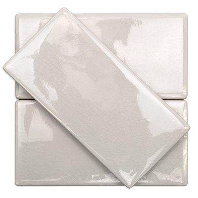 Baroque Crackled Blanco 3x6